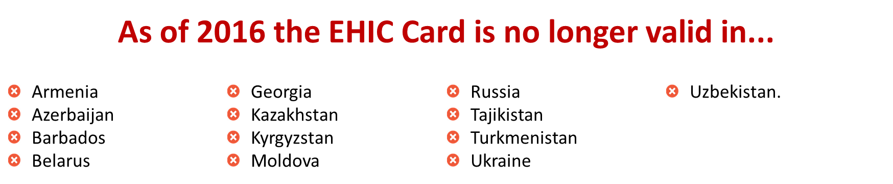 EHIC europe european health insurance card protect protection cover