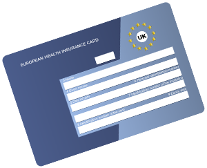European Health Insurance Card EHIC submission service