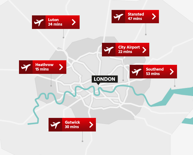 England London airports the worst and the best