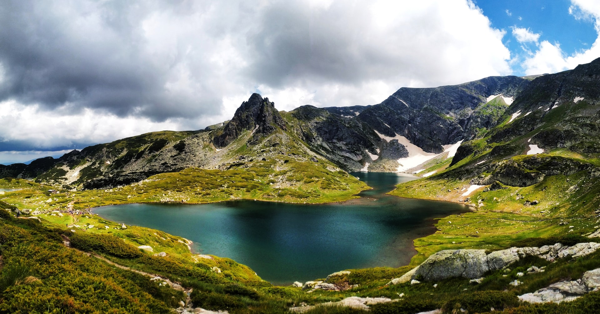 Bulgaria mountains lake nature visit travel